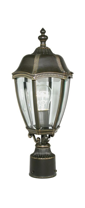 """Dolan Designs 952 18-1/2"""" Outdoor Post Light from the Roseville Series"""