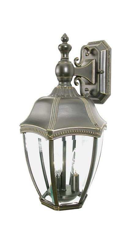 Dolan Designs 954 3 Light Outdoor Wall Sconce from the Roseville Sale $167.00 ITEM: bci118624 ID#:954-20 UPC: 765641954203 :