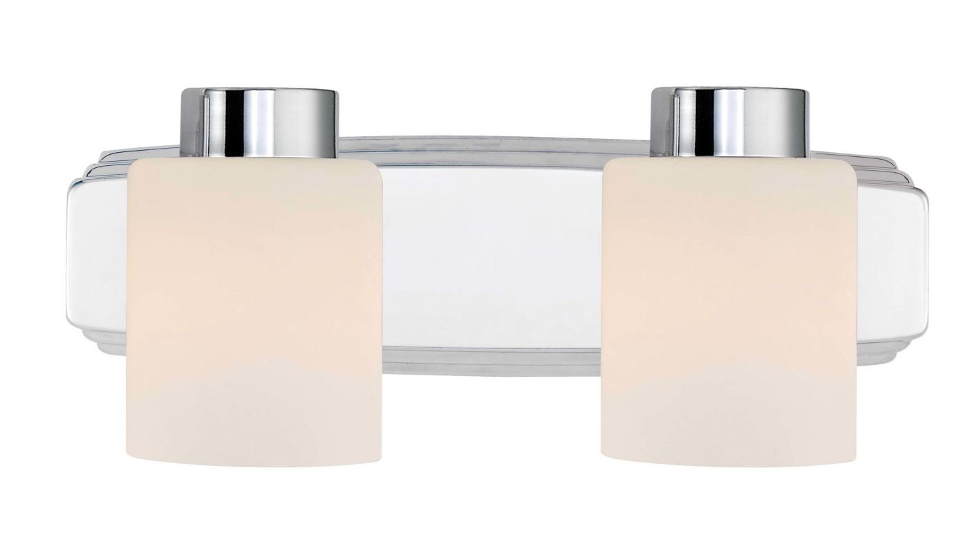 Height Of Vanity Lights : Dolan Designs 3502-26 Chrome 2 Light 6