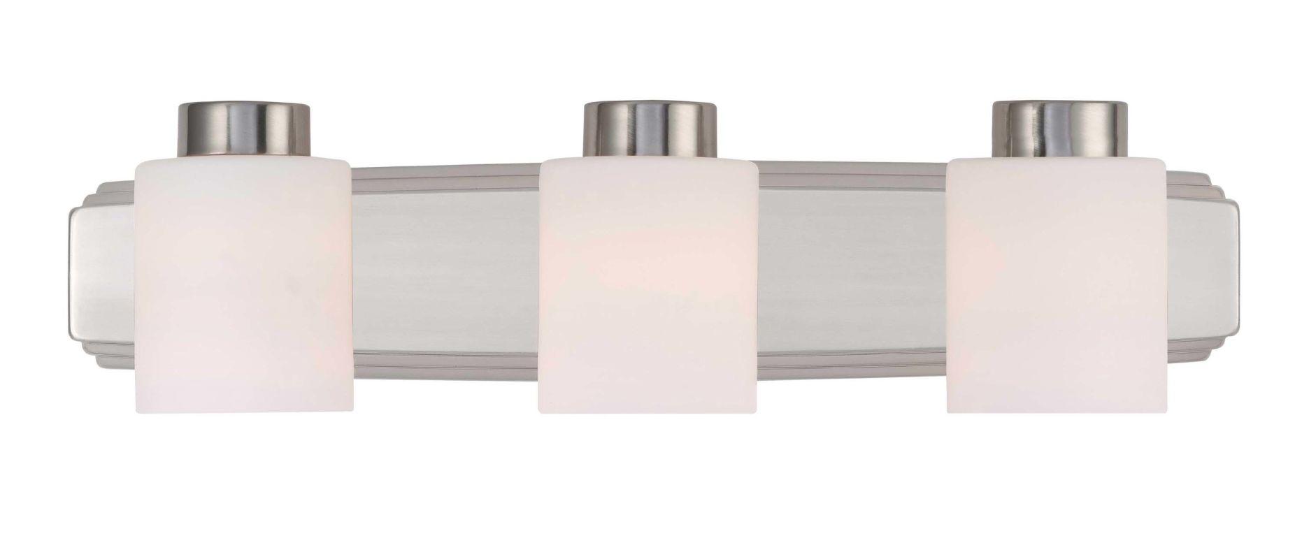 "Dolan Designs 3503 3 Light 6"" Height Bathroom Vanity Light Satin"