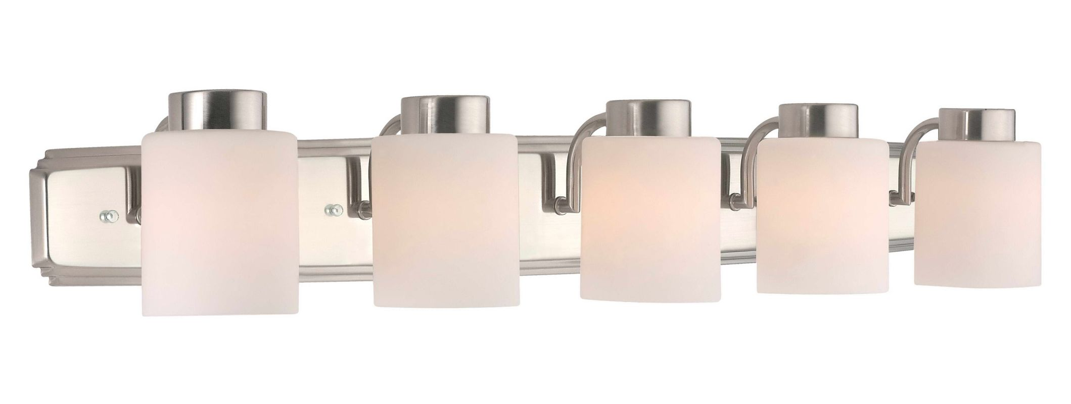 "Dolan Designs 3505 5 Light 6"" Height Bathroom Vanity Light Satin"