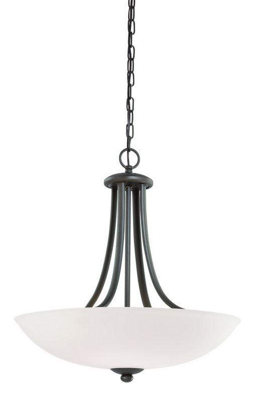 Dolan Designs 2904 4 Light Up Light Bowl Pendant from the Rainier