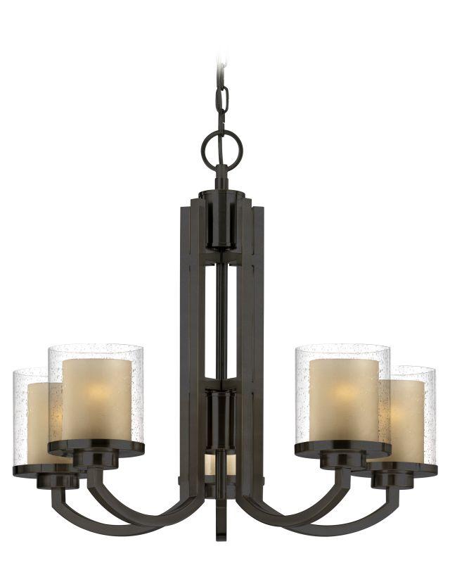 Dolan Designs 2950 Horizon 5 Light Chandelier Bolivian Bronze Indoor
