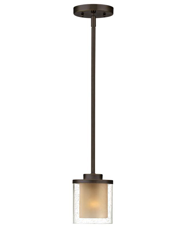 Dolan Designs 2951 Horizon 1 Light Pendant Bolivian Bronze Indoor