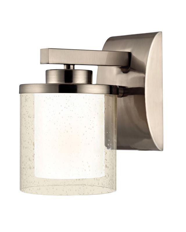 Dolan Designs 2956 Horizon 1 Light Wall Sconce Satin Nickel Indoor Sale $73.00 ITEM: bci1978420 ID#:2956-09 UPC: 765641015249 :