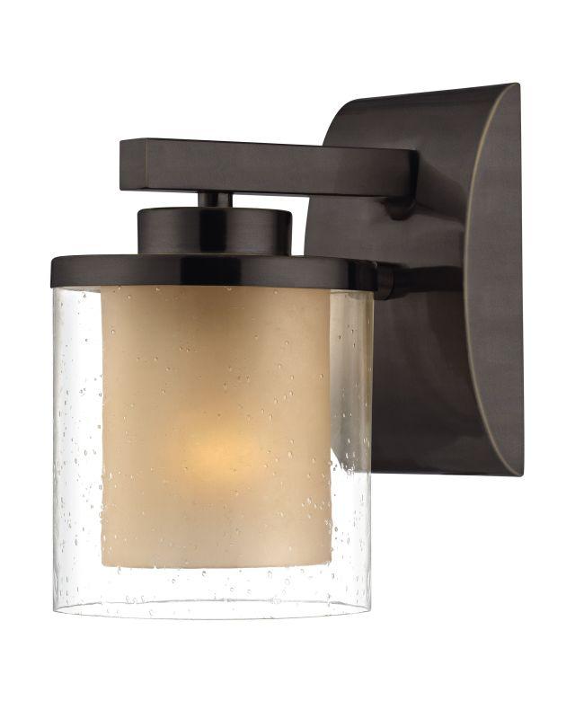 Dolan Designs 2956 Horizon 1 Light Wall Sconce Bolivian Bronze Indoor