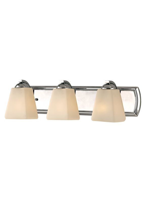 Dolan Designs 3373 Hammond 3 Light Bathroom Fixture Chrome Indoor