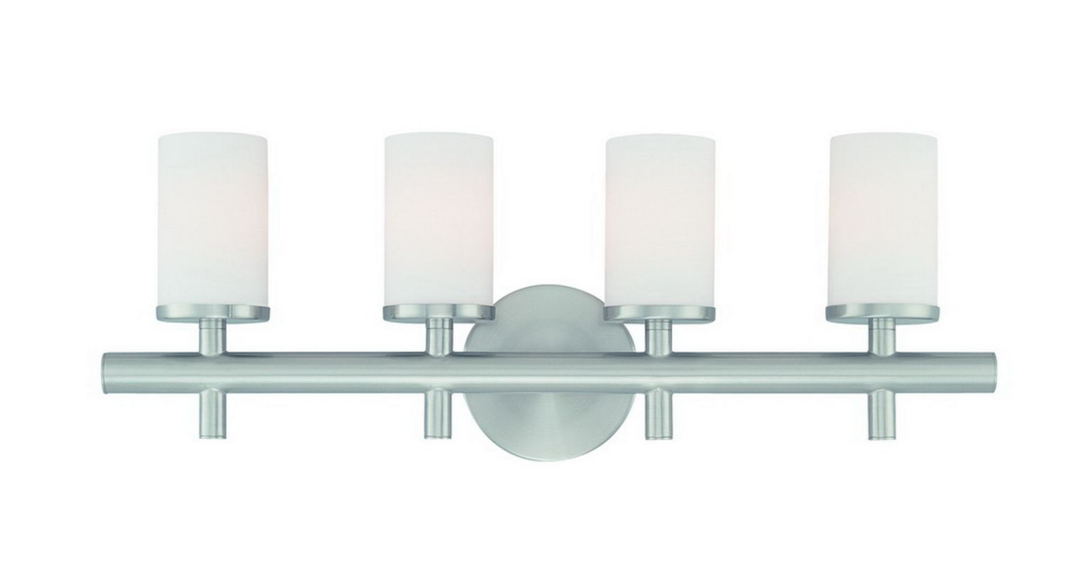 Dolan Designs 434 4 Light Ambient Light Bathroom Fixture from the Alto Sale $201.00 ITEM: bci704726 ID#:434-09 UPC: 765641434095 :
