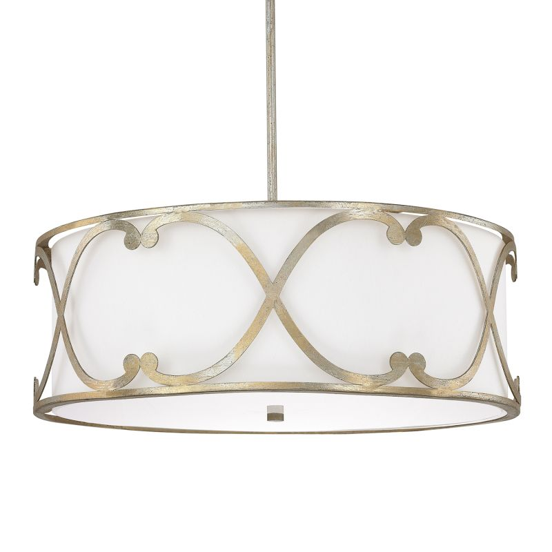 "Donny Osmond Home 4744-611 4 Light 24.25"" Wide Pendant from the"
