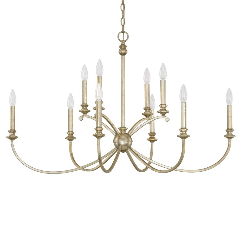 "Donny Osmond Home 4748-000 10 Light 41.25"" Wide Chandelier from the"