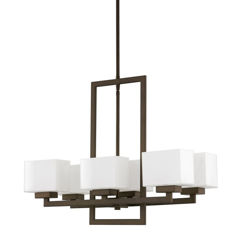 "Donny Osmond Home 4756-155 6 Light 26"" Wide Chandelier from the Tahoe"