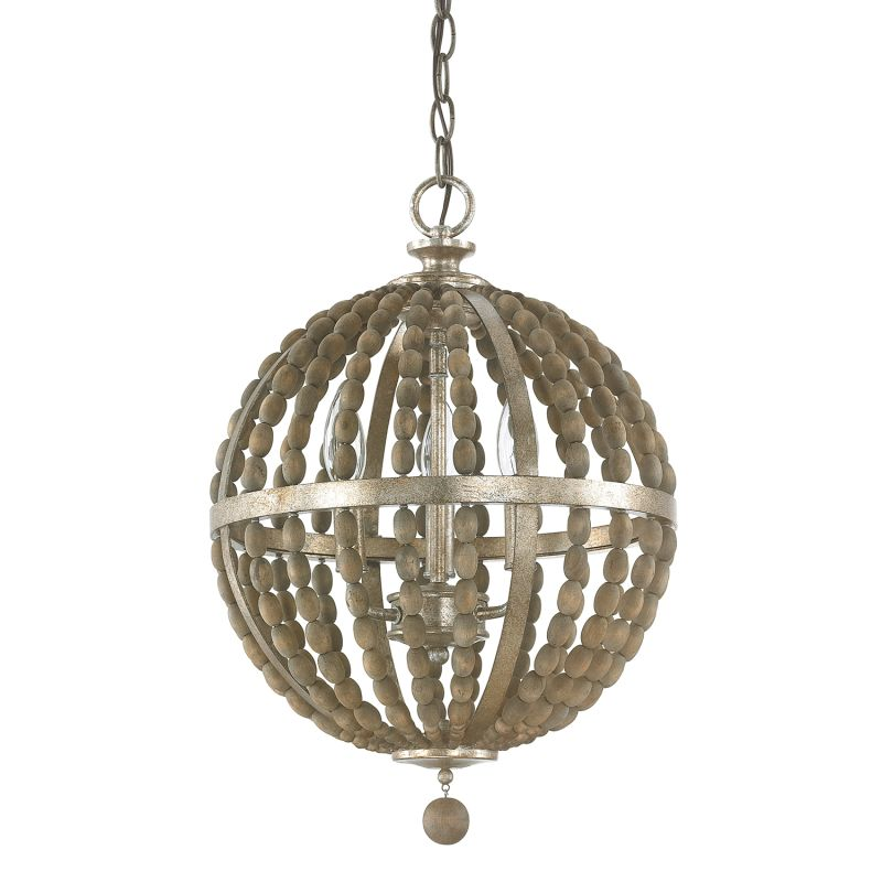 """Donny Osmond Home 4793 3 Light 13.5"""" Wide Pendant from the Lowell"""