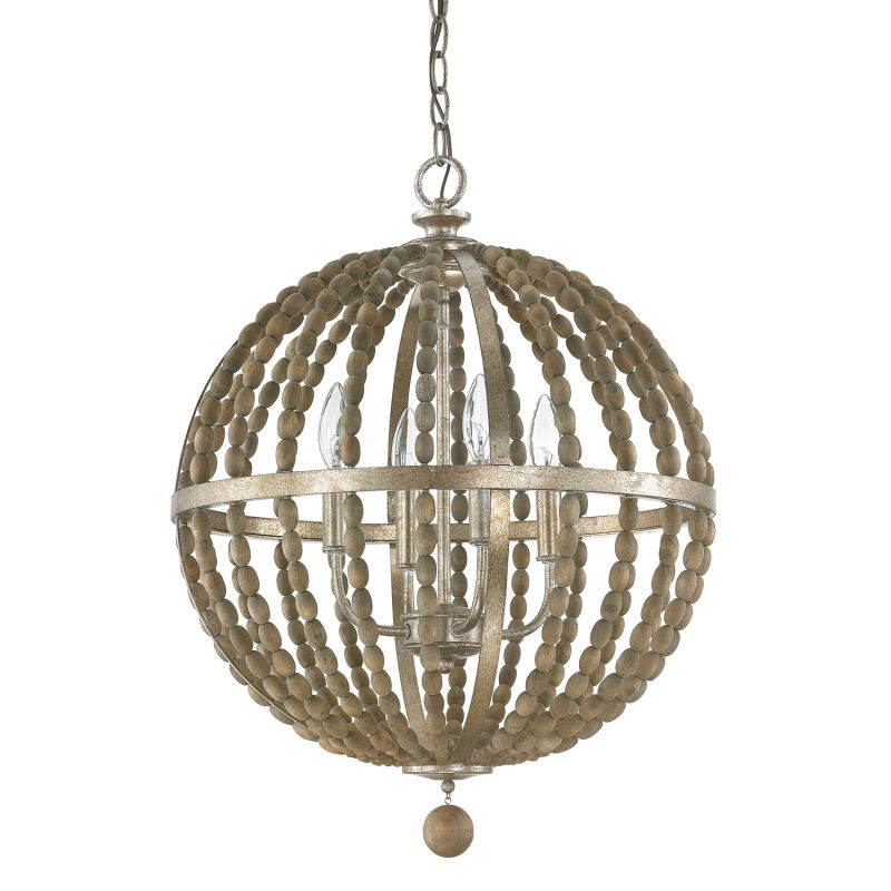 """Donny Osmond Home 4794 4 Light 18.25"""" Wide Pendant from the Lowell"""