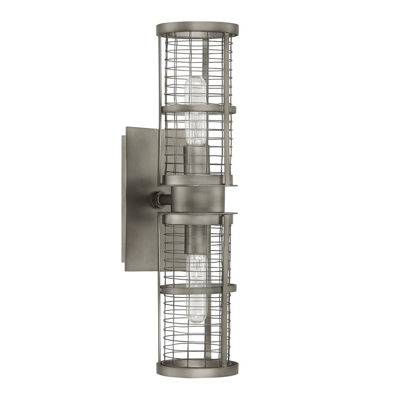 """Donny Osmond Home 4856 2 Light 20.25"""" Tall Wall Sconce from the Davis"""