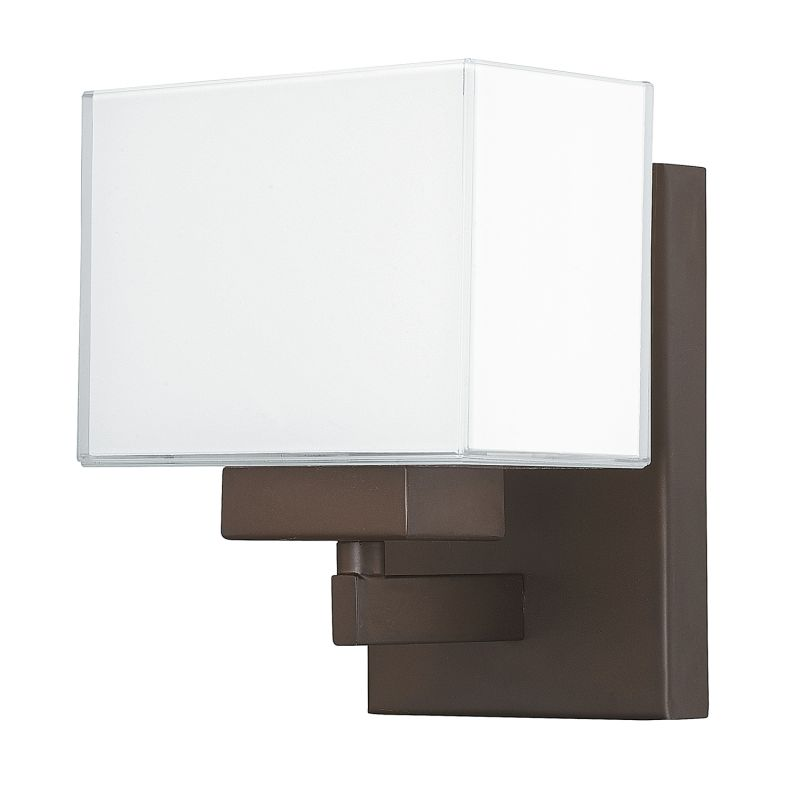 """Donny Osmond Home 8341-155 1 Light 7.25"""" Tall Bathroom Sconce from the"""