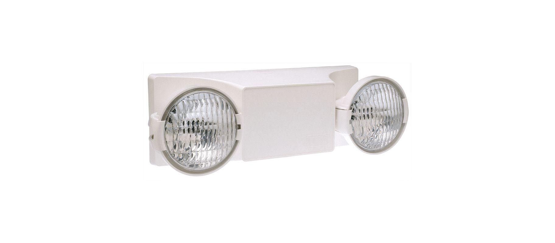 Dual-Lite EZ-2-D 3 Light Self-Contained 90 Minute Emergency Light - Sale $68.95 ITEM: bci1945110 ID#:EZ-2-D UPC: 782520840365 :