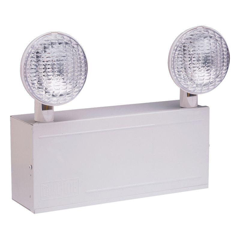 Dual Lite Lm40 White 2 Light Halogen 40 Watt Remote