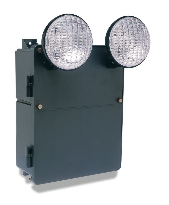 Dual-Lite N4X7-12V 3 Light 90 Minute Self-Contained Damp / Industrial