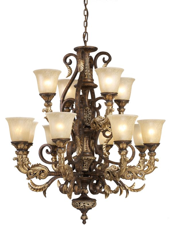 ELK Lighting 2165/8+4 2 Tier 12 Light Up Lighting Chandelier from the Sale $2860.00 ITEM: bci574286 ID#:2165/8+4 UPC: 748119216584 :