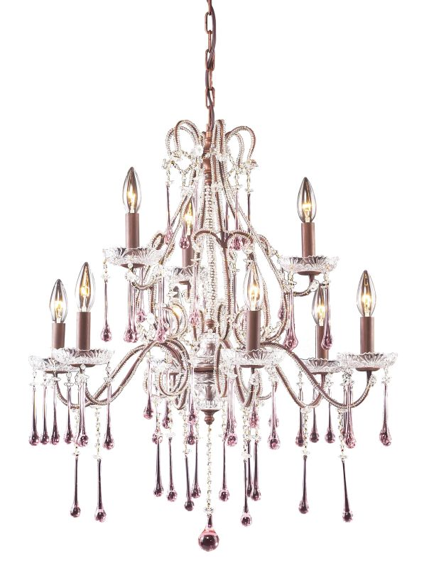 ELK Lighting 4013/6+3 Crystal 2 Tier 9 Light Up Lighting Chandelier Sale $868.00 ITEM: bci73537 ID#:4013/6+3RS UPC: 748119401379 :