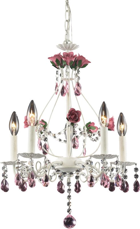 ELK Lighting 4054/5 Rosavita 5 Light 1 Tier Mini Crystal Chandelier Sale $328.00 ITEM: bci574439 ID#:4054/5 UPC: 748119405452 :