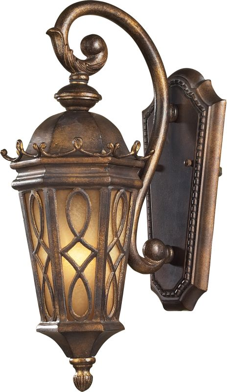 ELK Lighting 42000/1 Burlington Junction 1 Light Outdoor Wall Sconce
