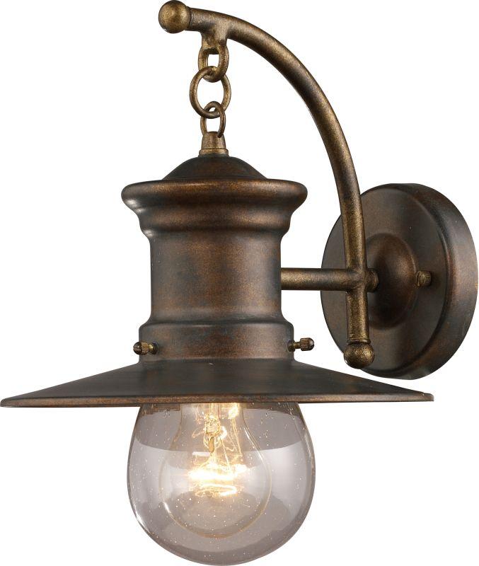 ELK Lighting 42006/1 Maritime 1 Light Outdoor Wall Sconce Hazelnut
