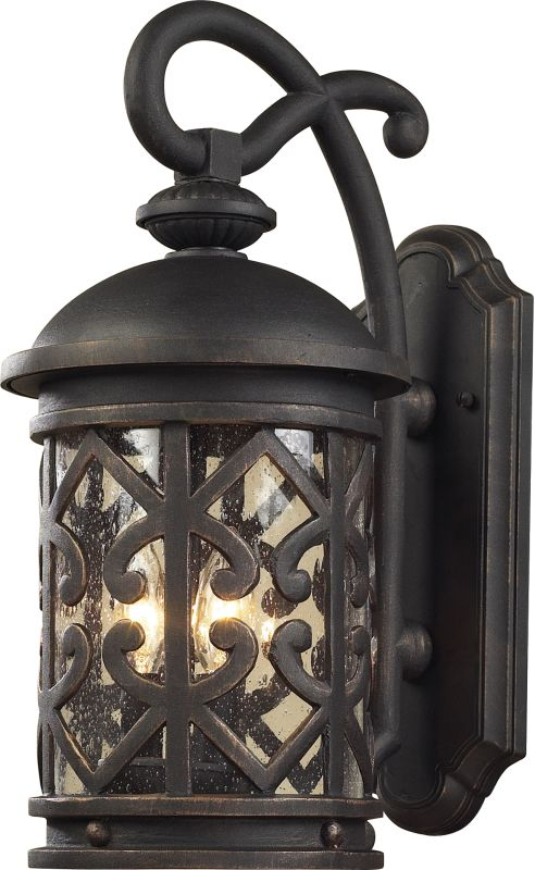 ELK Lighting 42062/3 Tuscany Coast 3 Light Outdoor Wall Sconce
