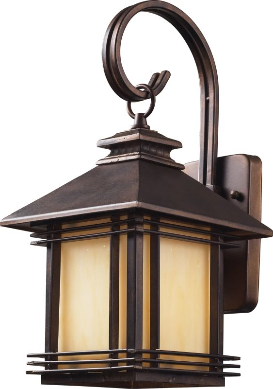 ELK Lighting 42100/1 Blackwell 1 Light Outdoor Wall Sconce Hazelnut Sale $188.00 ITEM: bci574490 ID#:42100/1 UPC: 748119421001 :
