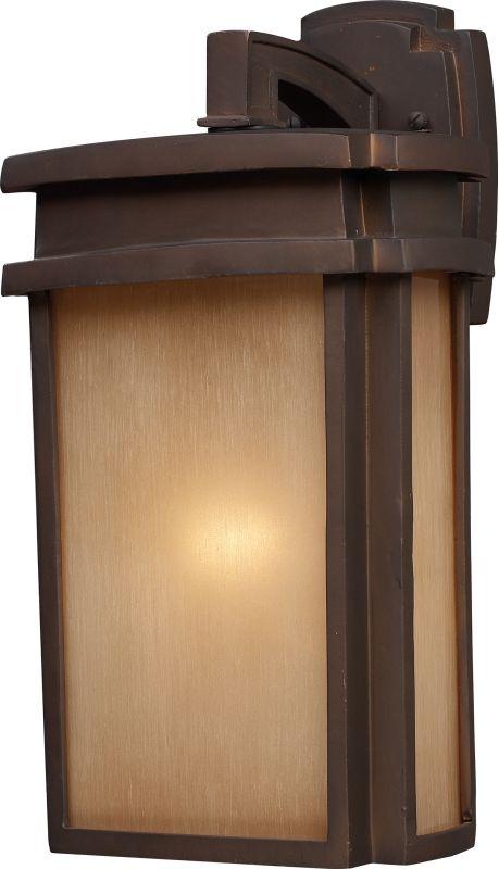 ELK Lighting 42141/1 Sedona 1 Light Outdoor Wall Sconce Clay Bronze