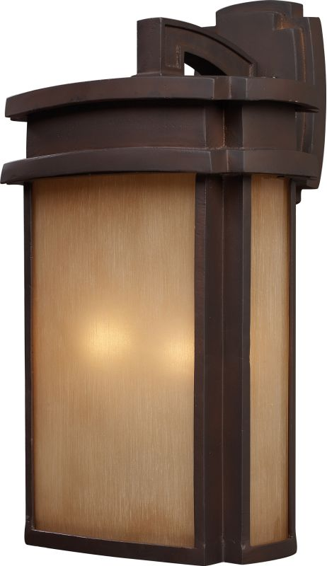 ELK Lighting 42142/2 Sedona 2 Light Outdoor Wall Sconce Clay Bronze