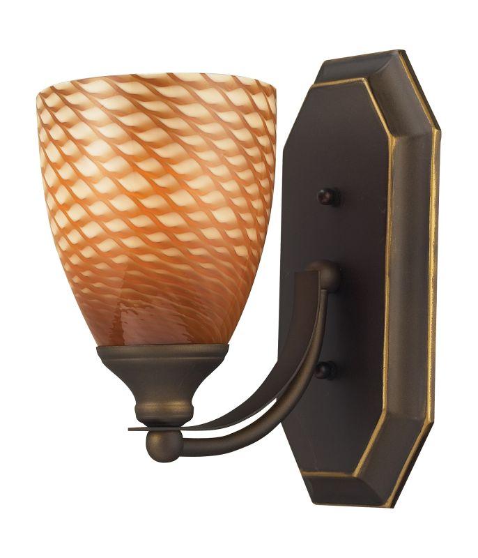 "ELK Lighting 570-1B Vanity Collection 1 Light 10"" Bathroom Sconce with Sale $90.00 ITEM: bci731456 ID#:570-1B-C UPC: 748119570112 :"