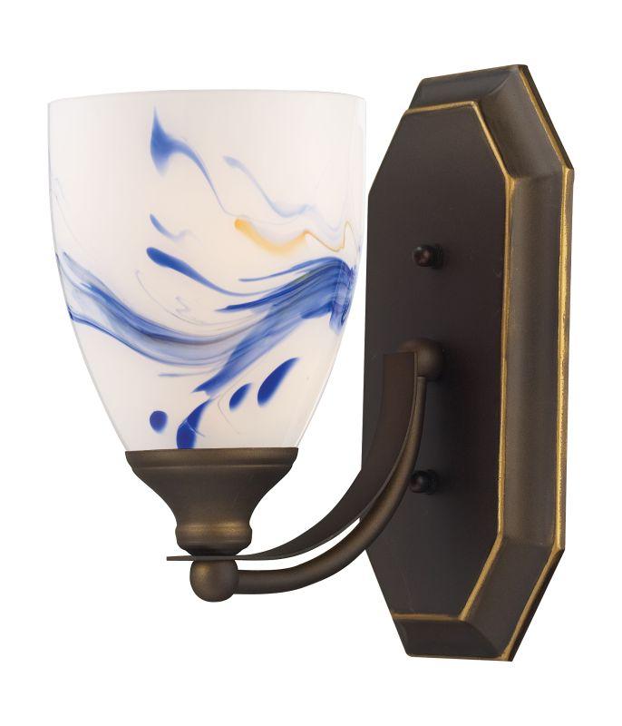 "ELK Lighting 570-1B Vanity Collection 1 Light 10"" Bathroom Sconce with Sale $90.00 ITEM: bci731459 ID#:570-1B-MT UPC: 748119007755 :"