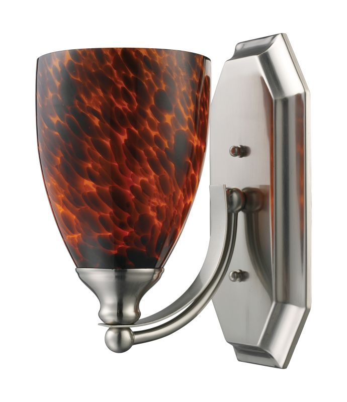 "ELK Lighting 570-1N Vanity Collection 1 Light 10"" Bathroom Sconce with Sale $90.00 ITEM: bci731499 ID#:570-1N-ES UPC: 748119008158 :"