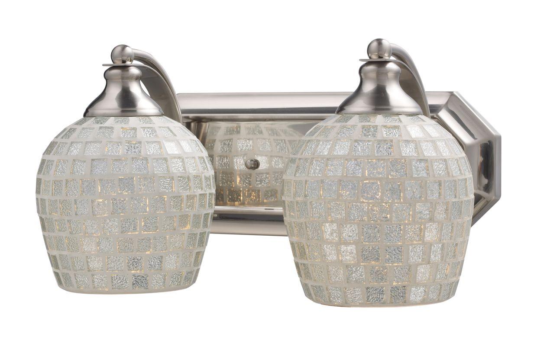"""ELK Lighting 570-2N Vanity Collection 2 Light 14"""" Vanity Fixture with"""