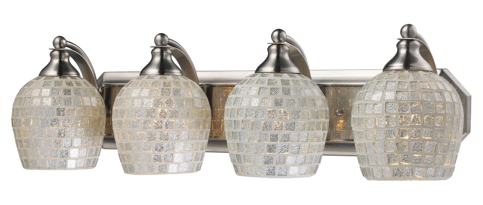 """ELK Lighting 570-4N Vanity Collection 4 Light 27"""" Vanity Fixture with"""