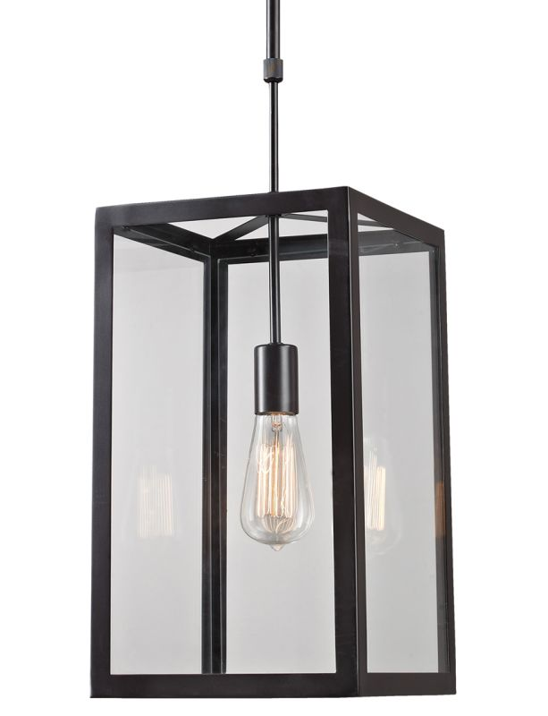 ELK Lighting 63022-1 Bronze Contemporary Parameters-Bronze Pendant