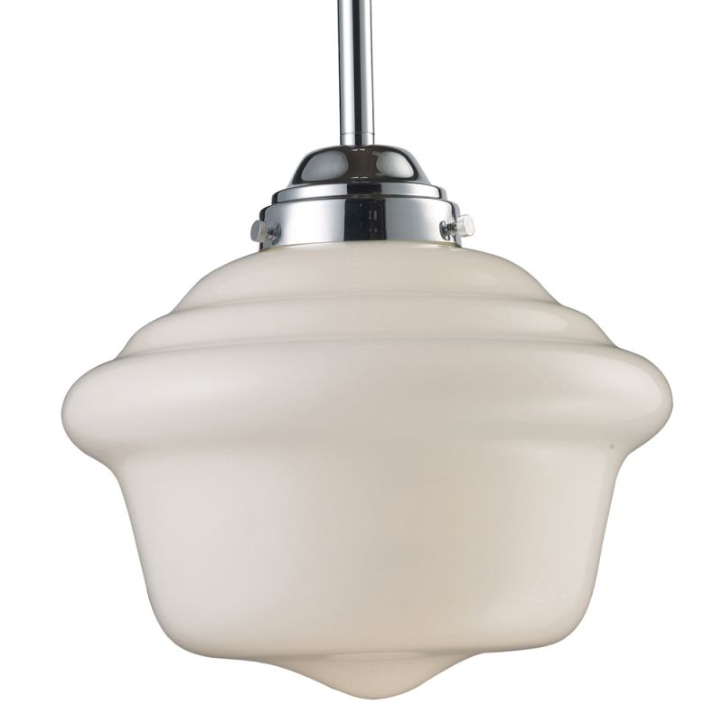ELK Lighting 69020 School House Single-Light Pendant in Polished Sale $236.00 ITEM: bci2220888 ID#:69020-1 UPC: 830335010968 :