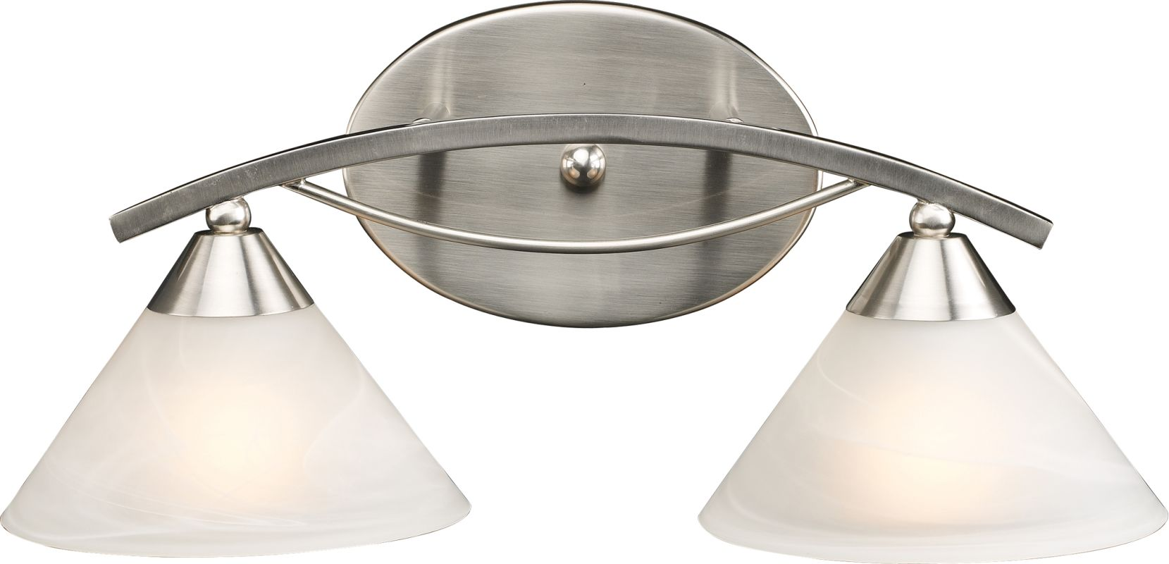 ELK Lighting 7631/2 Elysburg 2 Light Wall Sconce Satin Nickel Indoor