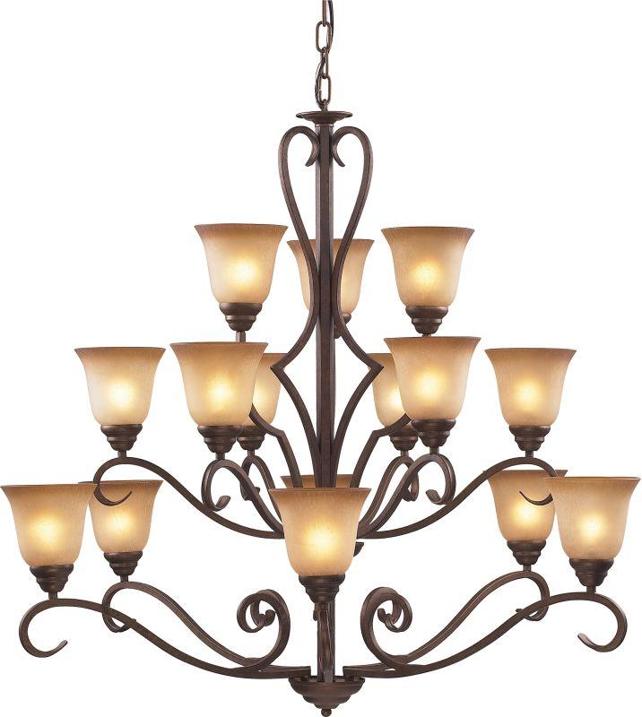 ELK Lighting 9330/6+6+3 3 Tier 15 Light Up Lighting Chandelier from Sale $900.00 ITEM: bci574757 ID#:9330/6+6+3 UPC: 748119933061 :