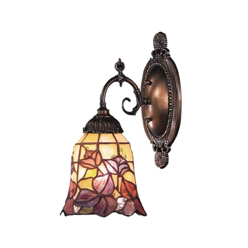 ELK Lighting 071-TB-17 Mix-N-Match 1 Light Wall Sconce Tiffany Bronze Sale $138.00 ITEM: bci2220809 ID#:071-TB-17 UPC: 830335000358 :