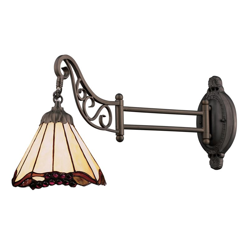 ELK Lighting 079-TB-03 Mix-N-Match Single-Light Swing arm Wall Sconce Sale $188.00 ITEM: bci2220760 ID#:079-TB-03 UPC: 830335012030 :