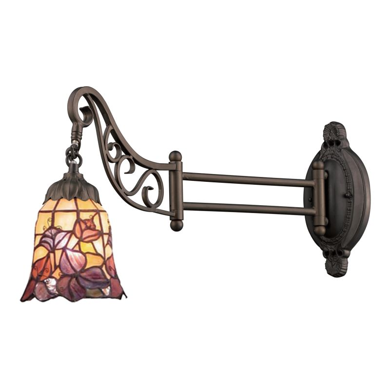 ELK Lighting 079-TB-17 Mix-N-Match Single-Light Swing arm Wall Sconce Sale $188.00 ITEM: bci2221056 ID#:079-TB-17 UPC: 830335012115 :