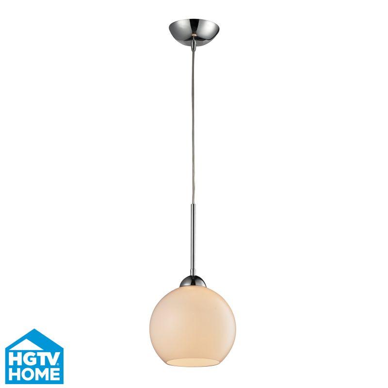 ELK Lighting 10240/1WH-LED HGTV Home Cassandra Single-Light LED Mini