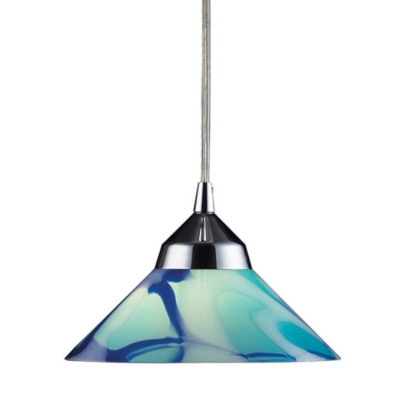 Mini Pendant Lights Blown Glass : Elk lighting mar mars refraction light mini