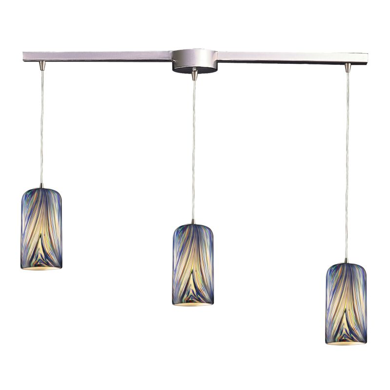 "ELK Lighting 544-3L Molten 3 Light 36"" Wide Linear Pendant with"