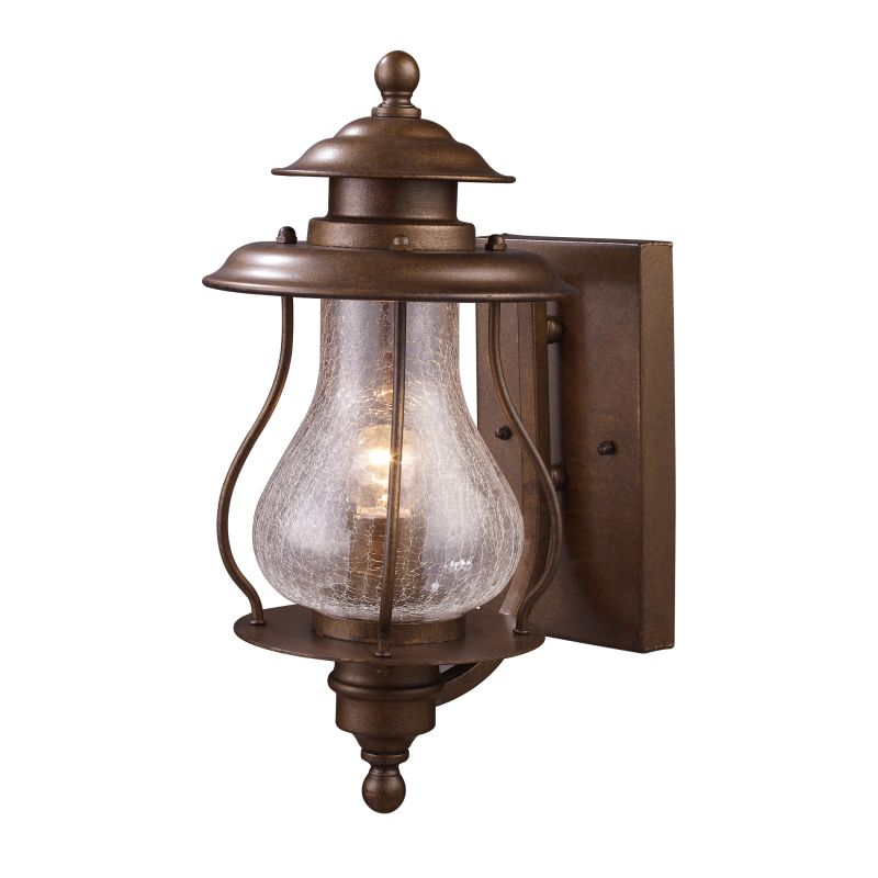 ELK Lighting 62005 Wikshire Single-Light Outdoor Wall Mount in Coffee