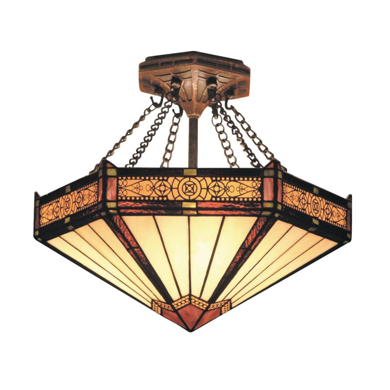 ELK Lighting 621 Filigree Three-Light Semi-Flush Ceiling Fixture Aged Sale $308.00 ITEM: bci2221009 ID#:621-AB UPC: 830335004745 :