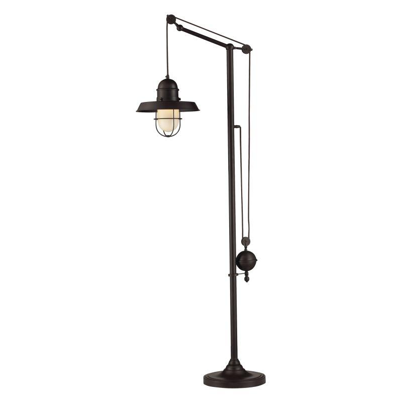 ELK Lighting 65073-1 Farmhouse Single-Light Floor Lamp Oiled Bronze Sale $690.00 ITEM: bci2220992 ID#:65073-1 UPC: 830335014782 :