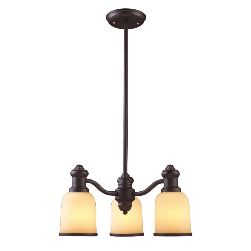 ELK Lighting 66172 Brooksdale Three-Light Chandelier in Oiled Bronze Sale $294.00 ITEM: bci2220990 ID#:66172-3 UPC: 830335010661 :